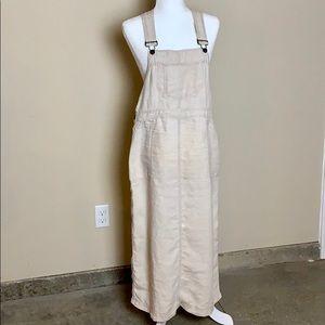 Eddie Bauer Long Overall Dress